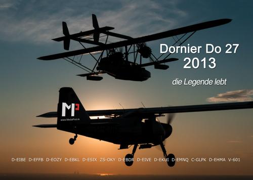 Dornier Do27 Kalender 2013